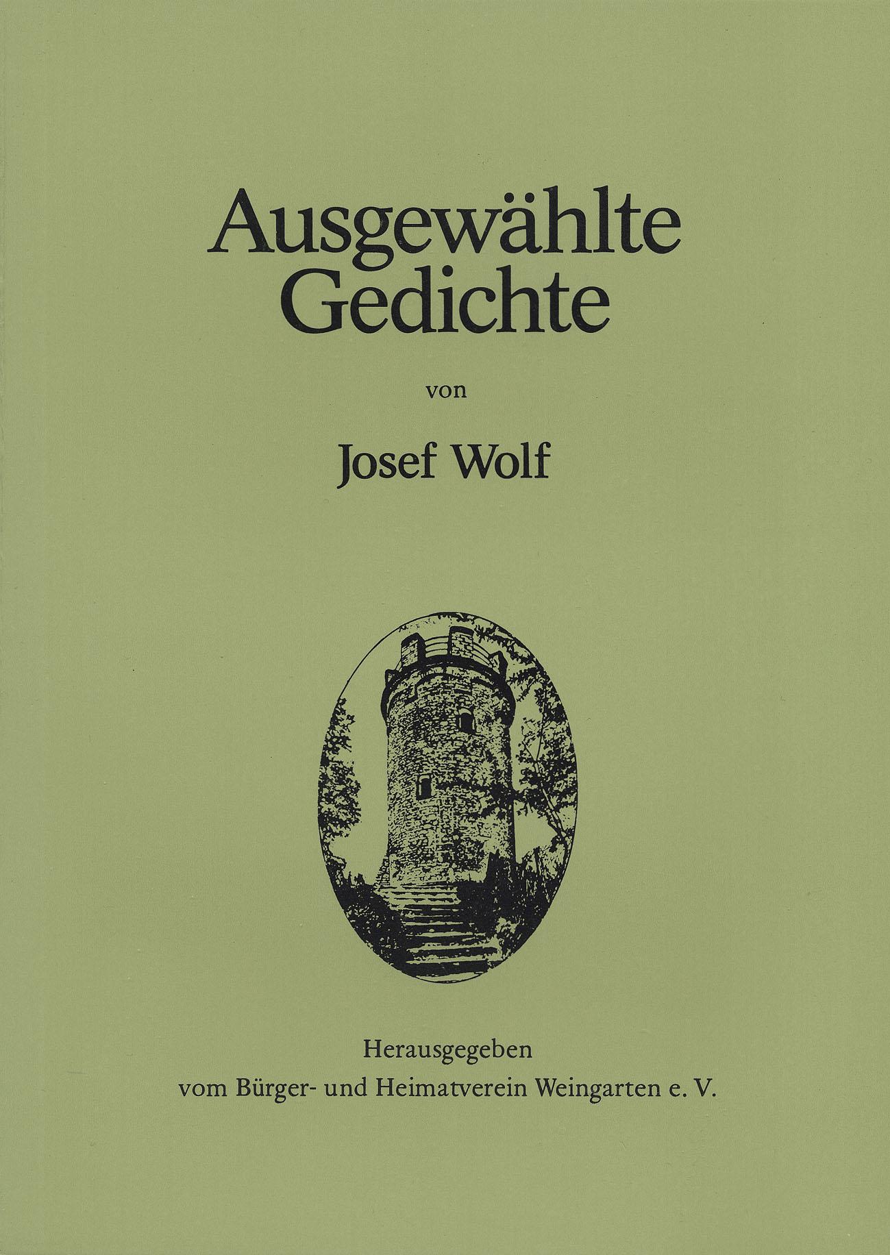 4 Wolf-Ausgewählte Gedichte