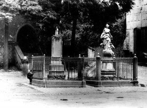 Kriegdenkmal 1870 mit Immaculata