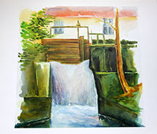 16 Bildmappe II-12 Aquarelle